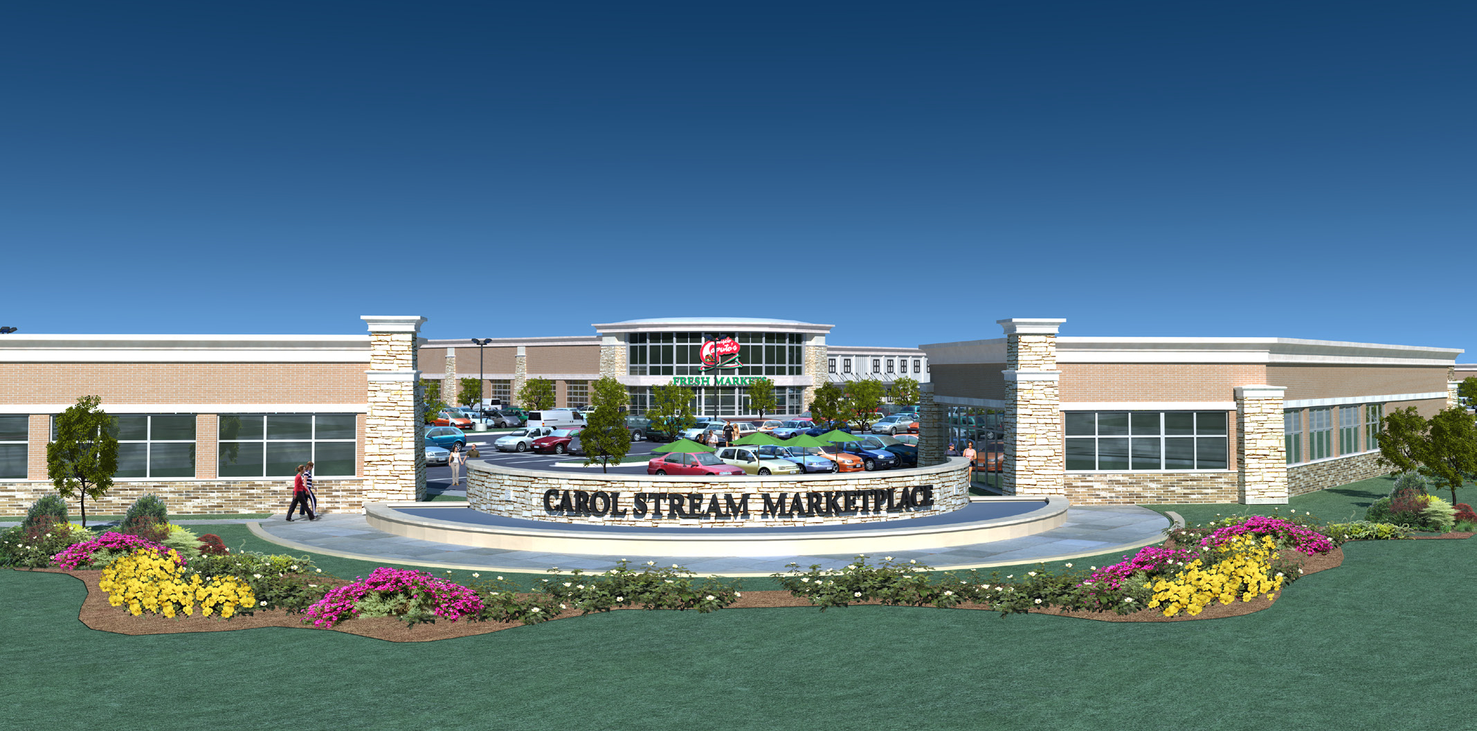 Carol Stream Marketplace New Franklin Properties